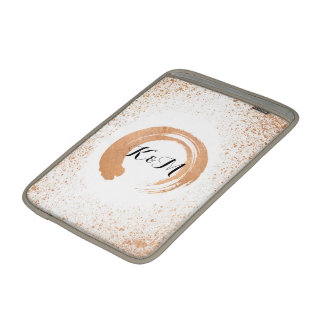 copper Spray Wedding Collection Gifts Sleeve For MacBook Air