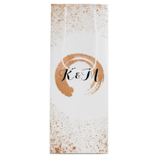 Copper Spray Wedding Collection Gifts Wine Gift Bag