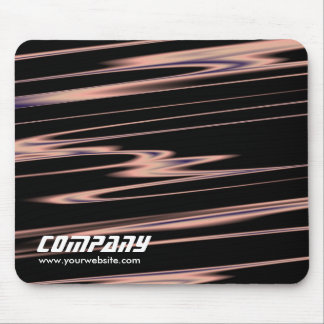 Copper Strands Abstract, Business Mouse Pad