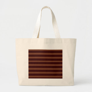 Copper Stripes Canvas Bag