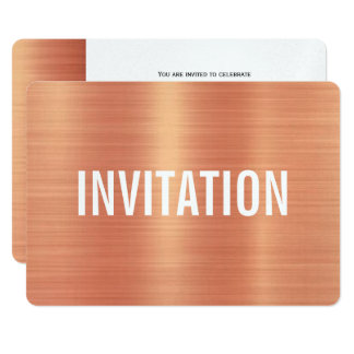 Copper Style | Party Invitation