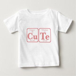 Copper Tellurium (CuTe) -- Pink Baby T-Shirt