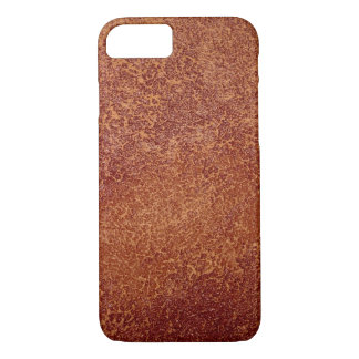 Copper textured look iPhone 7 Case