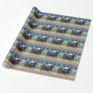 Copper Town & Johnny Vee Wrapping Paper