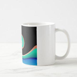 Copper Wave Basic White Mug