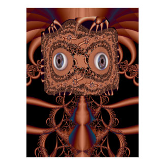 Copperhead Fractal Poster