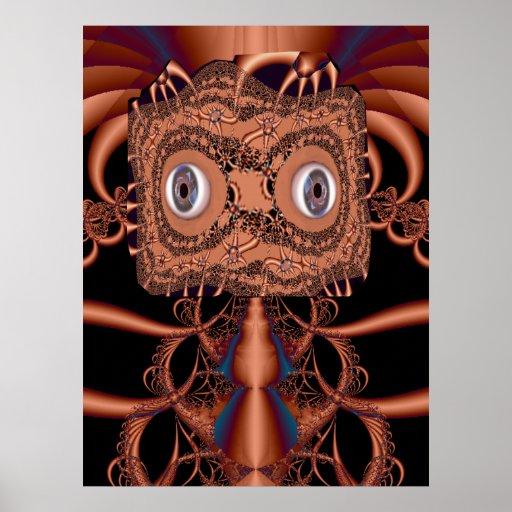 Copperhead Fractal Poster