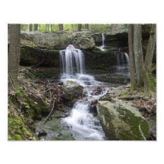 Coppermines Trail Waterfall Photographic Print