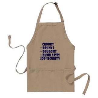 COPS job security Standard Apron