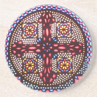 Coptic Cross Coasters