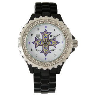 Coptic Cross Custom Wristwatch