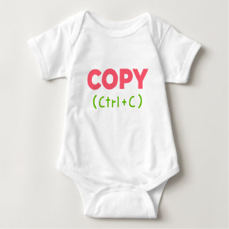 COPY (Ctrl+C) Baby Bodysuit