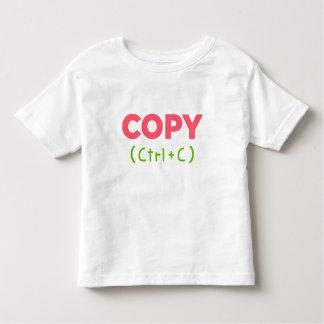 COPY (Ctrl+C) Copy and Paste Toddler T-Shirt