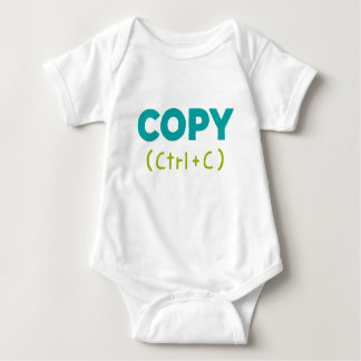 COPY (Ctrl+C) Copy & Paste Baby Bodysuit