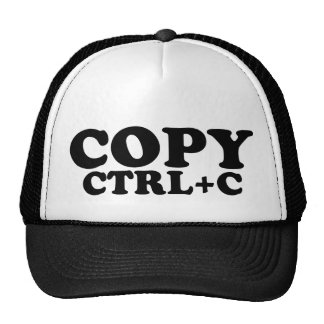 COPY Ctrl+C Twins Cap