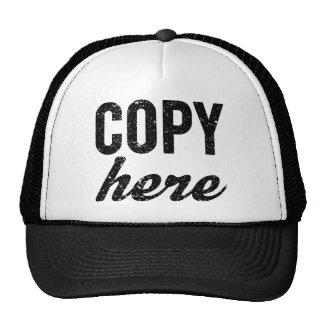 COPY For Copy Paste Twins Cap