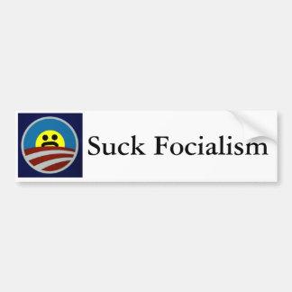 Copy of Obama-logo-712385, Suck Focialism Bumper Sticker