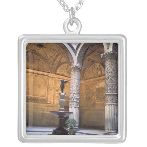 Copy of Putto with Dolphin by Andrea del Pendants