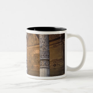 Copy of Putto with Dolphin by Andrea del Two-Tone Mug