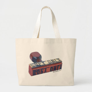 Copy Only Stamp. Jumbo Tote Bag