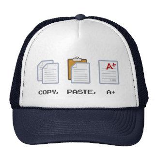 Copy, Paste, A+ hat