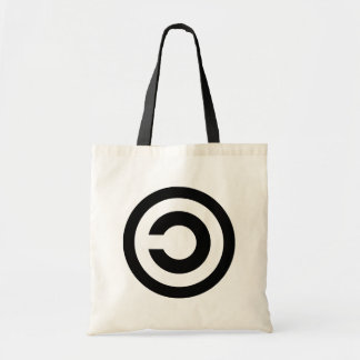 Copyleft - information wants to be free budget tote bag