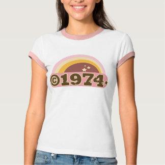 Copyright 1974 tee shirts