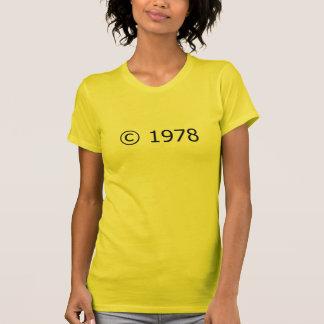 Copyright 1978 T-Shirt