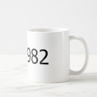 Copyright 1982 coffee mug