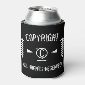 Copyright Symbol All Rights Reserved With Arrows Can Cooler