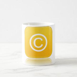 Copyright Symbol Mug
