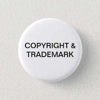 Copyright & Trademark Button