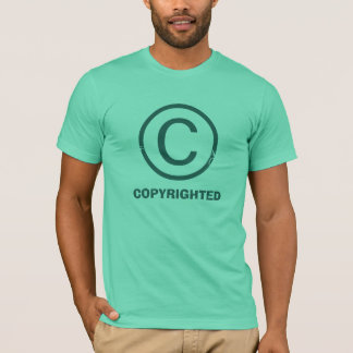 Copyrighted Mint T-Shirt