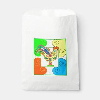 COQ CHICKEN CARTOON  bag Favor White