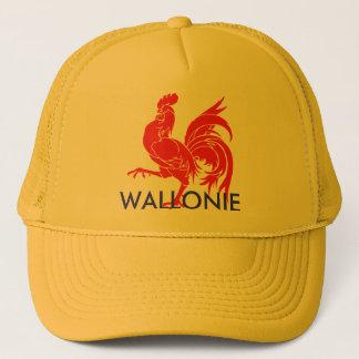 coq wallon wallonie trucker hat