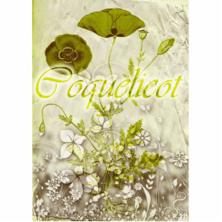 Coquelicot Photo Cut Outs