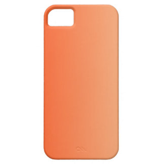 Coquelicot to Sunset Vertical Gradient iPhone 5 Cases
