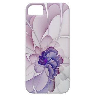 Coquette Purple Abstract Floral iPhone 5 Cover