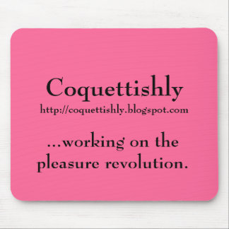 Coquettishly http coquettishly blogspot com mouse pad
