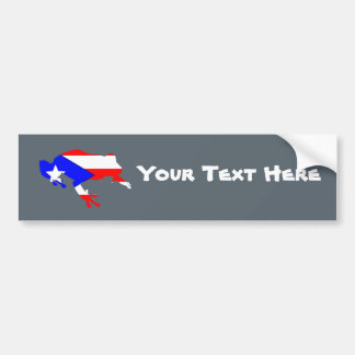 coqui flag bumper sticker