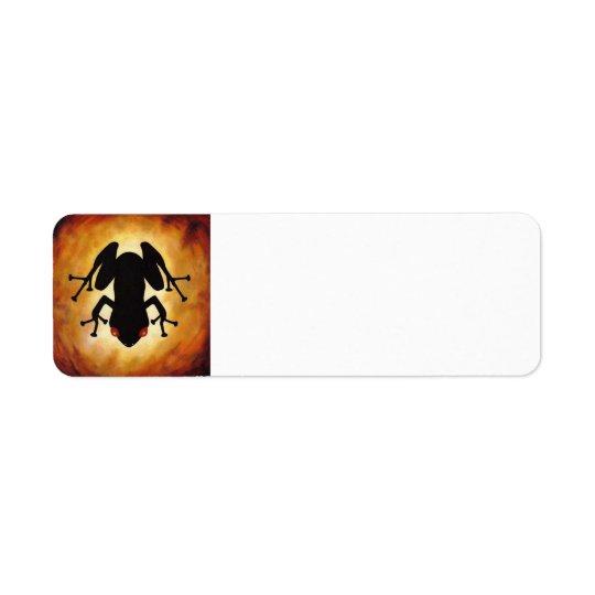 Coqui Icon Mailing Lable Return Address Label