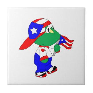 Coqui Puerto Rico Pride Ceramic Tile