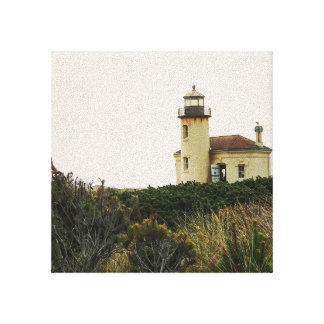 Coquille River Lighthouse Canvas Print