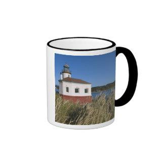 Coquille River lighthouse, Oregon, USA Ringer Mug