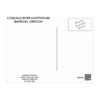 Coquille River Lighthouse Postcard