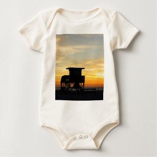Coquina Shack Baby Bodysuit