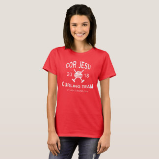 Cor Jesu Curling Team shirt, 2018 T-Shirt