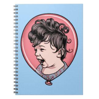Cora Balloon Note Book