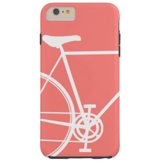 Coral abstract bike Case-Mate Tough iPhone 6 Plus