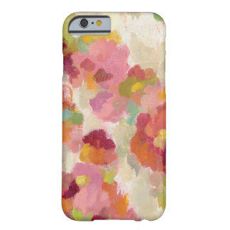 Coral and Emerald Garden Barely There iPhone 6 Case